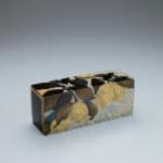 松崎森平:東京藝術大学『色貝蒔絵飾箱「檸檬」』<br />H135×325×105