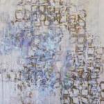 須貝旭:愛知県立芸術大学『透過する滞留物』<br />F100号:1,620 ×1,300