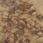 吉川由季恵:沖縄県立芸術大学『ともに』<br />F50号:1,167×910