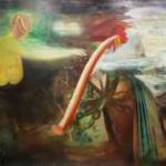 松尾勘太:武蔵野術大学『untitled』<br />F100号:H1,303×W1,620