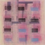 大橋朋美:日本大学芸術学部『printmaking/HANGA/my work no.1』<br />画面サイズ:500 × 500,額サイズ:700 × 700